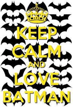 Love Batman!