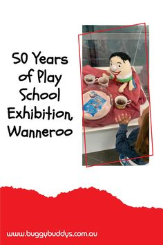 """To celebrate Play School entertaining and educating Australian children for 50 years Wanneroo Cultural Centre is hosting the """"Happy Birthday Play School: Celebrating 50 Years"""" Exhibition. The display is touring the country and this is the only gallery in Perth's metro area that you can see it. School Exhibition, Cultural Center, Family Events, Perth, Touring, Centre, Happy Birthday, Entertaining, Display"""