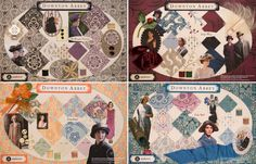 first exclusive collection of licensed fabrics for Downton Abbey ®