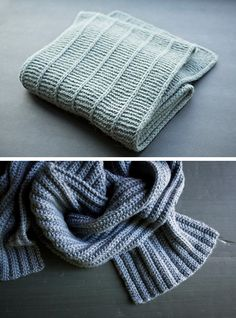 New Favorites: Simple scarves (free knitting patterns) I need to try the bottom one :)