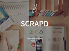 [GIF] Scrapd Landing Page is now live!