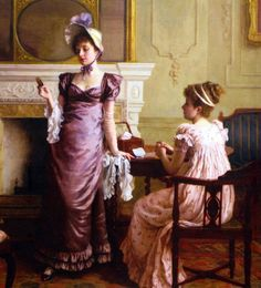 Thoughtful Moments Charles Haigh Wood -