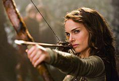Natalie Portman...my pick for Katsa for Graceling....we know she looks good with short hair!