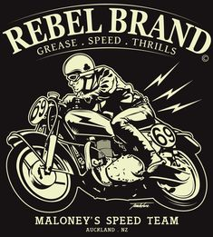 #caferacer graphic #design | caferacerpasion.com
