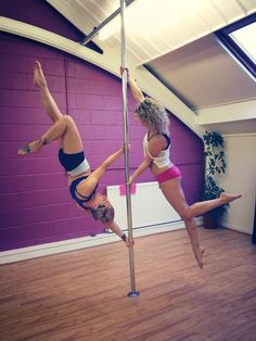 So pretty! Pole dancing, pole fitness, pointed toes, strong, making it look easy