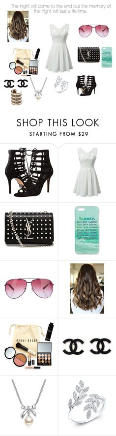 """Summer party"" by menna121 ❤ liked on Polyvore featuring Michael Kors, Yves Saint Laurent, Monika Strigel, STELLA McCARTNEY, Bobbi Brown Cosmetics, MBLife.com, Anne Sisteron, MANGO and Mennasfashion"