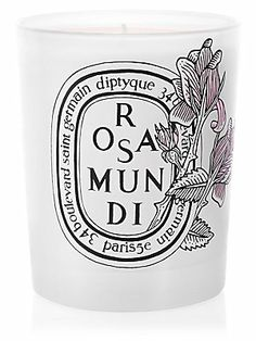 Diptyque Limited-Edition Rosa Mundi Candle-would love to be able to afford these candles!