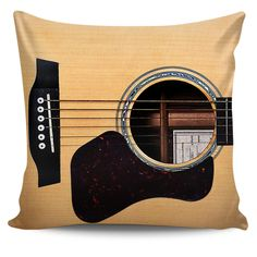 Guitar Pillow (Cushion) Cover 80% Discount Offer