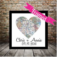 Hey, I found this really awesome Etsy listing at https://www.etsy.com/listing/126130970/holiday-gift-personalized-heart-map