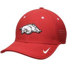 a7a15c8e4c645 Arkansas Razorbacks Nike Youth Sideline Coaches Adjustable Performance Hat  - Crimson