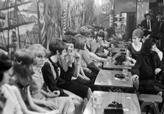 George Rodger - England. Liverpool. Youth at the Blue Angel beat club. 1964., Photograph