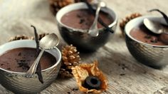 Mousse au chocolat au pu er et à la vanille pour Envouthé