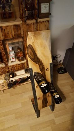 Wine Rack, Furniture, Home Decor, Homemade Home Decor, Bottle Rack, Home Furnishings, Wine Racks, Decoration Home, Arredamento