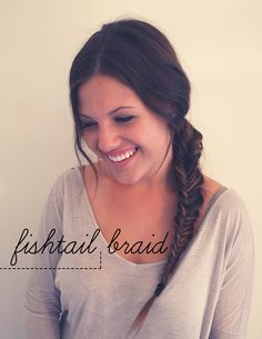 fishtail braid #tutorial