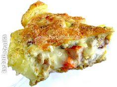 Pui cu cartofi la cuptor Romanian Food, Lasagna, Food And Drink, Cooking, Ethnic Recipes, Crafts, Pie, Kitchen, Manualidades