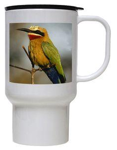Bee Eater Polymer Plastic Travel Mug