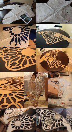 Wing Progress by koi-ishly on DeviantArt