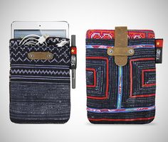 Fancy - iPad Mini Sleeves . I bet you could make these