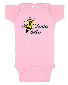 All babies are cute... un-bee-lievably cute! Whether its your son or daughter or a friends baby, this creeper will look great on them while letting everybody know the obvious... THEY ARE UNBELIEVABLY CUTE! Perfect Baby Shower Gift or Kids Birthday Gift. 100% combed ringspun cotton 1x1 baby
