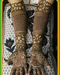 Bridal Mehandi Art