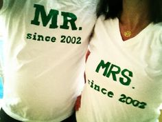 made these as a surprise for the mr. on our 10 year anniversary.  :)