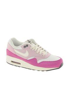 reputable site d4518 ec42b Nike Air Max 1 Essential Pink Trainers Air Max 1, Nike Air Max, Roze