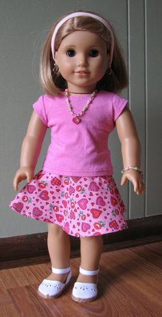 American Girl Doll Clothes / 18 Doll Clothes by MadiGraceDesigns by Cheryl Sullivan Jacobs