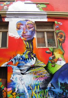 Claiming and beautifying public spaces (Valparaiso, Chile)