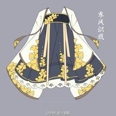 Cute kimono dress design