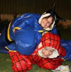 Kids and Adult sumo suits - Australia wide great for commercial use!