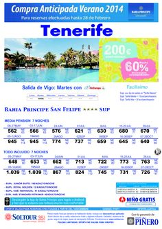 Tenerife, hasta 60% Compra Anticipada Bahía Príncipe San Felipe, salidas desde Vigo ultimo minuto - http://zocotours.com/tenerife-hasta-60-compra-anticipada-bahia-principe-san-felipe-salidas-desde-vigo-ultimo-minuto/