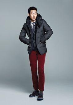 Kim Soo Hyun in ZIOZIA Winter 2013 Ad Campaign Feat
