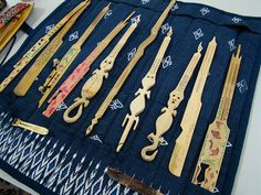 some kind of lovely handmade musical instruments from the philippines.