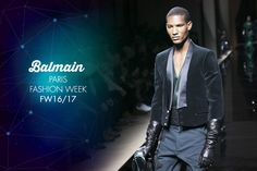 #pfw #Paris #FashionWeek #Homme #FW1617: #Balmain #fashion