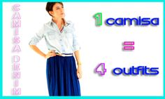 Como combinar una camisa denim Outfits, Lifestyle, Videos, Suits, Clothes, Clothing, Dresses, Outfit, Outfit Posts