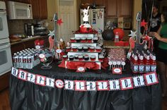 Rock Star Birthday Party Ideas | Photo 3 of 26 | Catch My Party