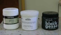 pinch me to see if you're dreaming: What is Gesso and Why Should I Care?