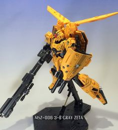 MG MSZ-006 3-B GRAY ZETA 製作記⑧ - 哀シイケドコレ戦争ナノヨネ 《ボクの ワタシの プラモ製作記》