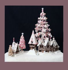 Bavarian Christmas Village, by Polly Morris.