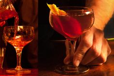 Boothby Cocktail - This classic cocktail begins with sweet vermouth ...