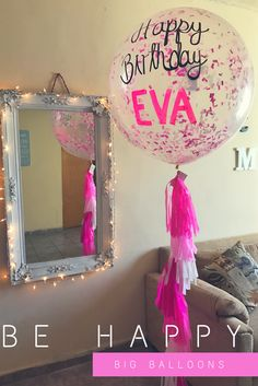Big Balloons Pink