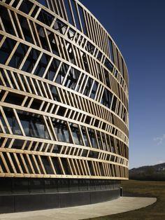 Centro de Visitantes, Museo Alésia / Bernard Tschumi Architects