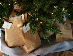The Domestic Notebook: Wrapping Jesse Tree Ornaments