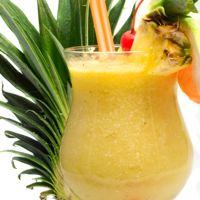Cayman Sunset Tropical Drink Recipe