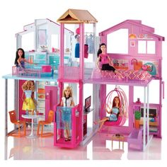Barbie toys collection from the leading toys provider. Shop barbie dolls, barbie games and much more. Doll Clothes Barbie, Barbie Doll House, Barbie Dream House, Ken Doll, Barbie Dolls, Mattel Barbie, Dreamhouse Barbie, Barbie Pink Passport, Barbie Townhouse