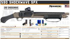 O.F. Mossberg & Sons, Inc. - 590 Shockwave SPX