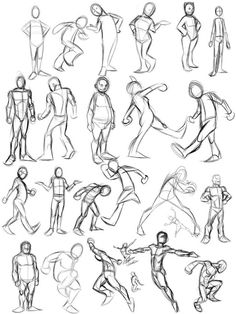 Art Tutorials & References smash-chu: Just some general tips theres a lot Figure Sketching, Figure Drawing Reference, Art Reference Poses, Animation Reference, Gesture Drawing, Drawing Poses, Drawing Sketches, Anatomy Drawing, Drawing Tips