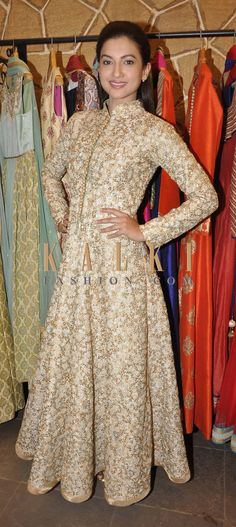 #coatstyle #sherwanistyle #anarkali #long #floorlength #golden