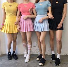 Which one is your favorite color? Korean Fashion Inspiration #fashion #kfashion #mixxmix #rc