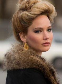 Hair Tutorial: Jennifer Lawrence in American Hustle Jennifer Lawrence American Hustle, Vanity Fair, Pelo Jennifer Lawrence, Divas, Trends 2016, Nathalie Portman, Style Retro, 70s Style, Asian Makeup